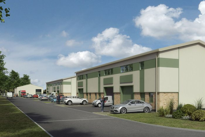 Riverside Enterprise Park - Hybrid Units