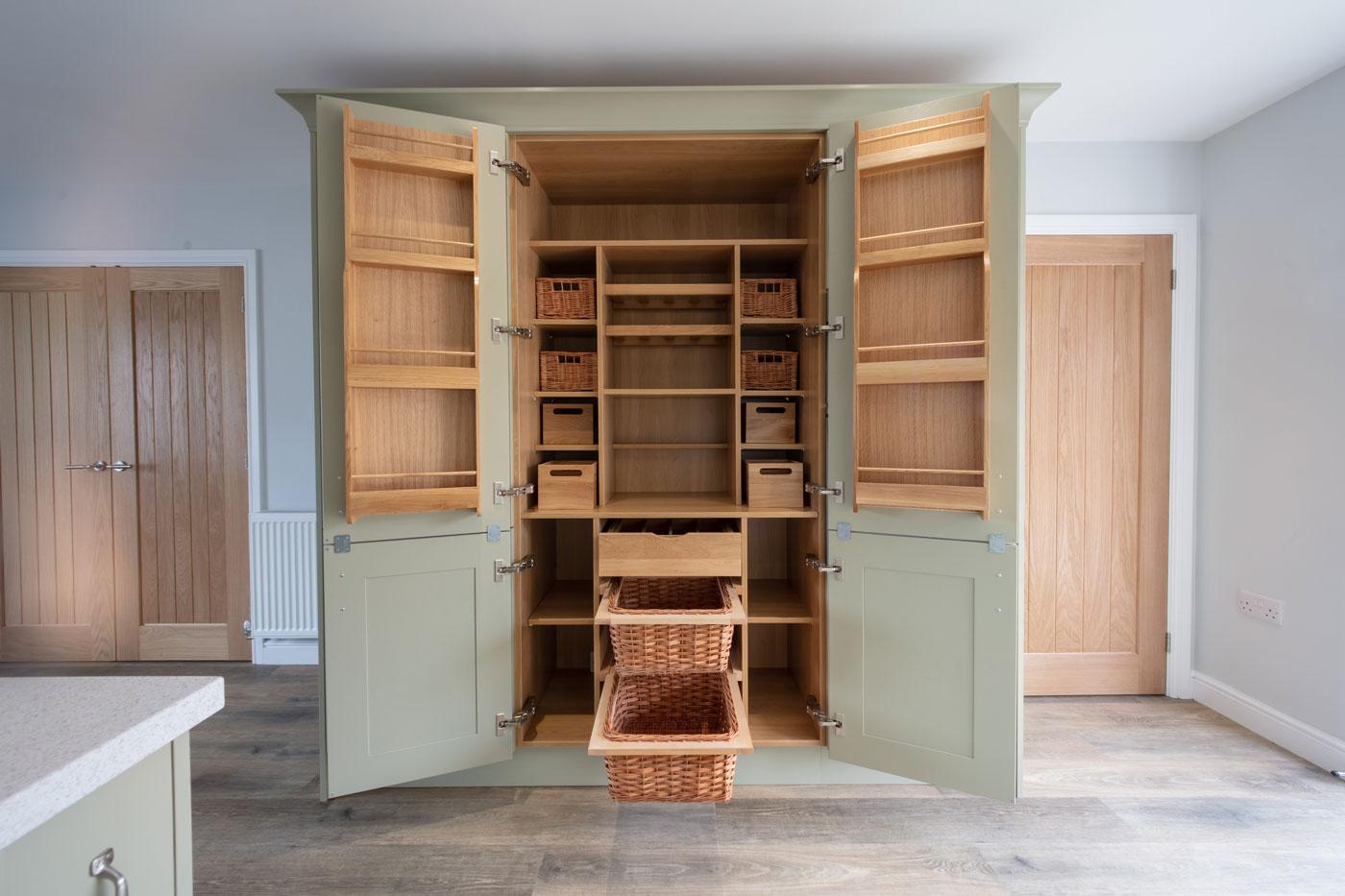 Kitchen storage cupboard