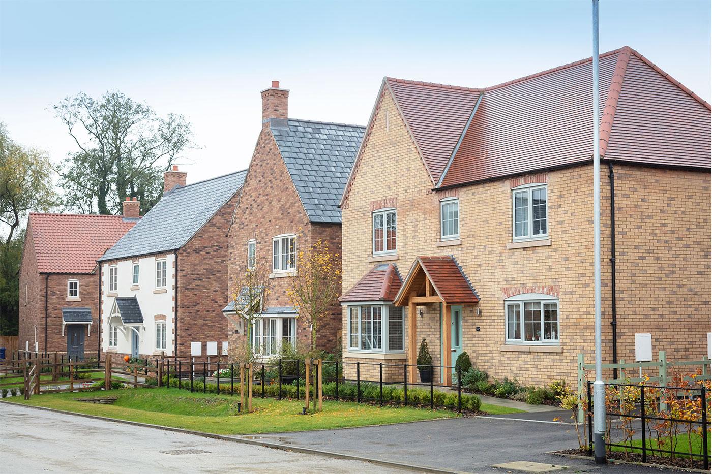 New homes on Lodge Lane development in Nettleham